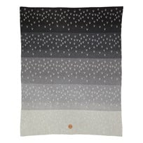 ferm LIVING Little Gradi Blanket Black