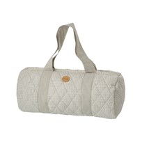 ferm LIVING Grey Cross Duffel Bag Grey Cross