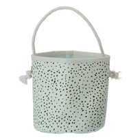 ferm LIVING Mint Dot Basket - Mini Mini Dot