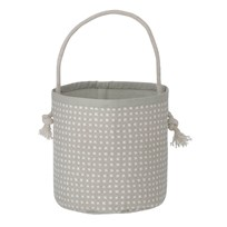 ferm LIVING Grey Cross Basket - Mini Grey Cross