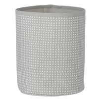ferm LIVING Grey Cross Basket - Small Grey Cross