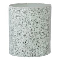 ferm LIVING Mint Dot Basket - Medium Mint Dot