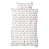 ferm LIVING Dotty Bedding - Rose - Junior Multi