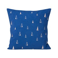 ferm LIVING Cone Cushion - Blue Blue