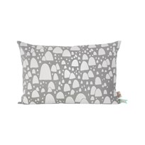 ferm LIVING Mountain Tops Cushion - Grey Black