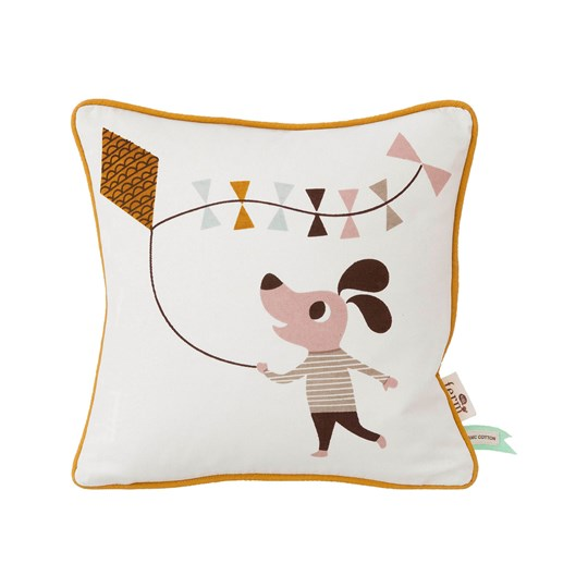ferm LIVING Dog Cushion dog