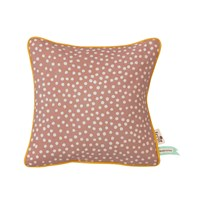 ferm LIVING Dots Cushion - Rose Multi