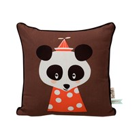 ferm LIVING Posey Panda Cushion Panda