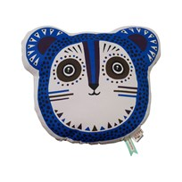 ferm LIVING Billy Bear Cushion - Blue Blue