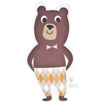 ferm LIVING Mr. Bear Cushion Bear