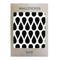 ferm LIVING Mini Drops Wallsticker - Black Black