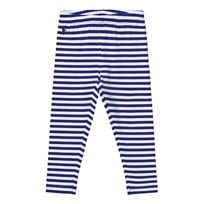 Ralph Lauren Striped Jersey Leggings Active Royal/White Active Royal/white