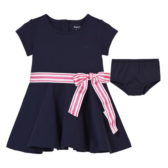 Ralph Lauren Ponte Dress & Bloomer French Navy French Navy
