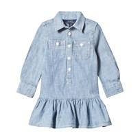 Ralph Lauren Chambray Polo Dress INDIGO
