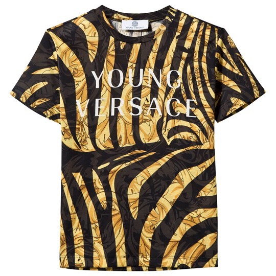Versace Baroque T-shirt Black Gold NERO-ORO-BIANCO