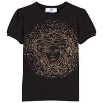 Young Versace Medusa T-shirt Black/Gold NERO/ORO