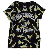 Little Eleven Paris Famhairy T-shirt Black Black