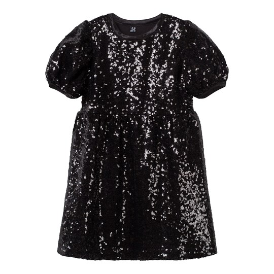 The Tiny Universe The Tiny Shimmer Dress All Black ALL BLACK