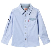 Levis Kids Timeo Long Sleeve Shirt Indigo INDIGO