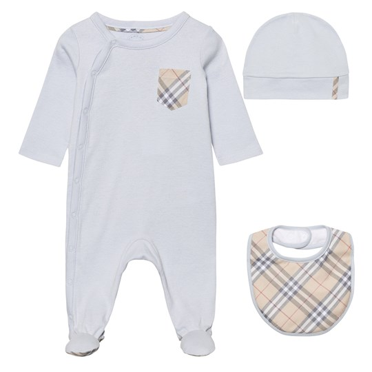 Burberry Baby Gift Sets : Burberry baby gift set ice blue