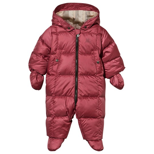 Burberry Down-filled Puffer Suit Peony Rose Peony Rose