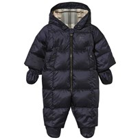 Burberry Down-filled Puffer Suit Navy Navy