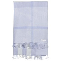 Burberry Check Cashmere Baby Blanket Blue