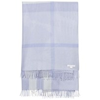 Burberry Check Cashmere Baby Blanket Blue Pink