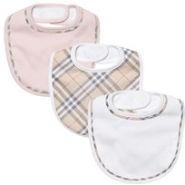 Burberry Bib Set Powder Pink Powder Pink