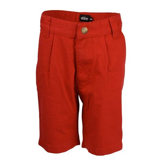 ebbe Kids Bo Chinos Shorts Deep Red Red