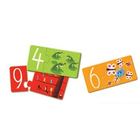 Djeco Numbers Puzzle Duo Multi