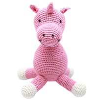 natureZOO Miss Unicorn Teddy Bear Rosa