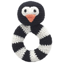 natureZOO Sir Penguin Ring Rattle Black