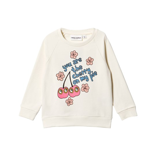 Mini Rodini Cherry Sweatshirt Pink Pink