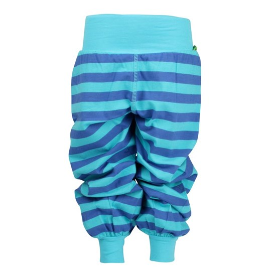 Plastisock Trainer Pants Stripe Blue/Scub Blue