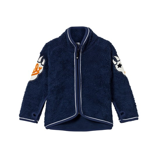 Molo Ulan Fleece Jacket Navy Blue Navy Blue