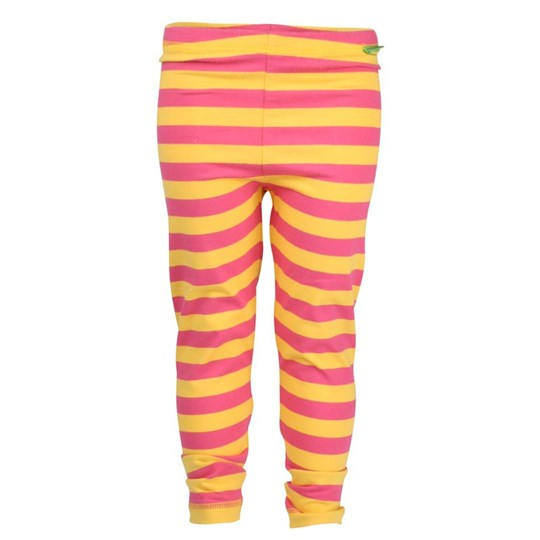 Plastisock Leggings Kids Stripe Pink/Yell Pink