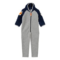 Molo Uny Fleece Onesie Navy Blue Navy Blue