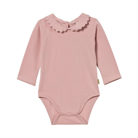 Hust&Claire Baby Body With Collar Dusty Rose Dusty Rose