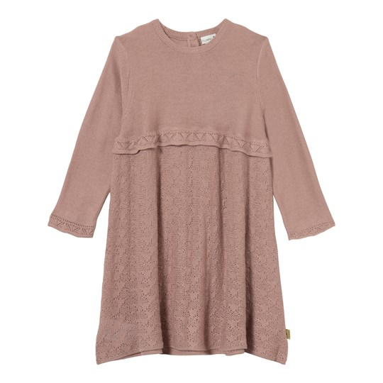 Hust&Claire Knit Dress Dusty Rose Dusty Rose