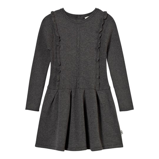 Hust&Claire Knit Dress Grey Antracite Melange