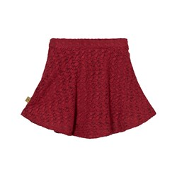 Hust&Claire Anglaise Skirt Red