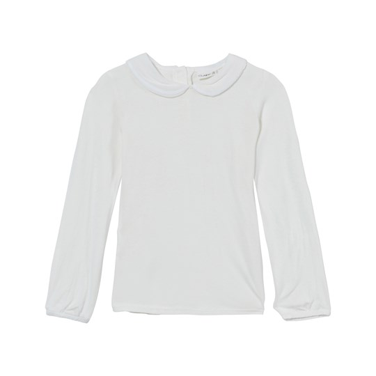 Hust&Claire Blouse with Collar Ivory Ivory
