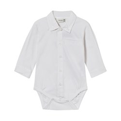 Hust&Claire Shirt Baby Body Jersey White