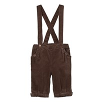 Hust&Claire Corduroy Trousers with Suspenders Falcon Falcon
