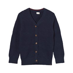 Hust&Claire Cardigan Knitted Night Blue