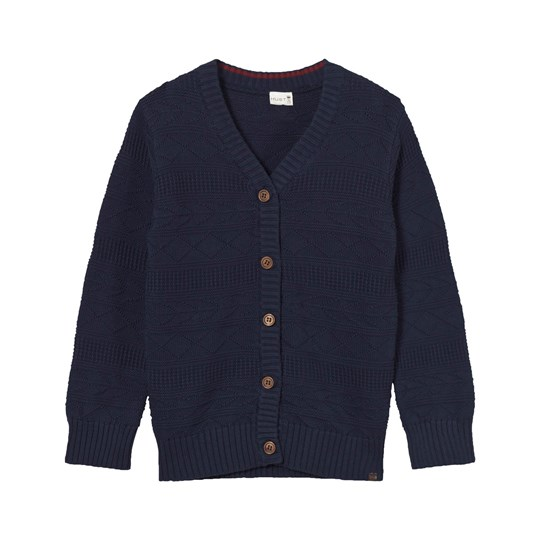 Hust&Claire Cardigan Knitted Night Blue Night Blue