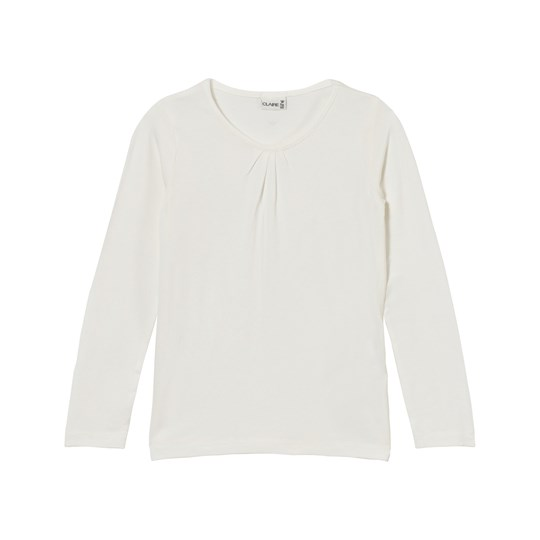 Hust&Claire Long Sleeve T-Shirt Skin Chalk Ivory