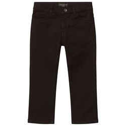 Dolce & Gabbana Black Jeans with Muscial Note Applique