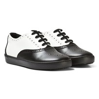 Dolce & Gabbana Black and White Brogue Trainers 8B926